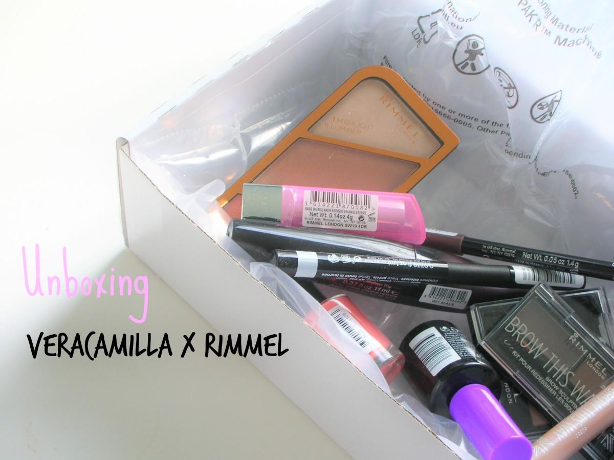 Unboxing | VeraCamilla x Rimmel