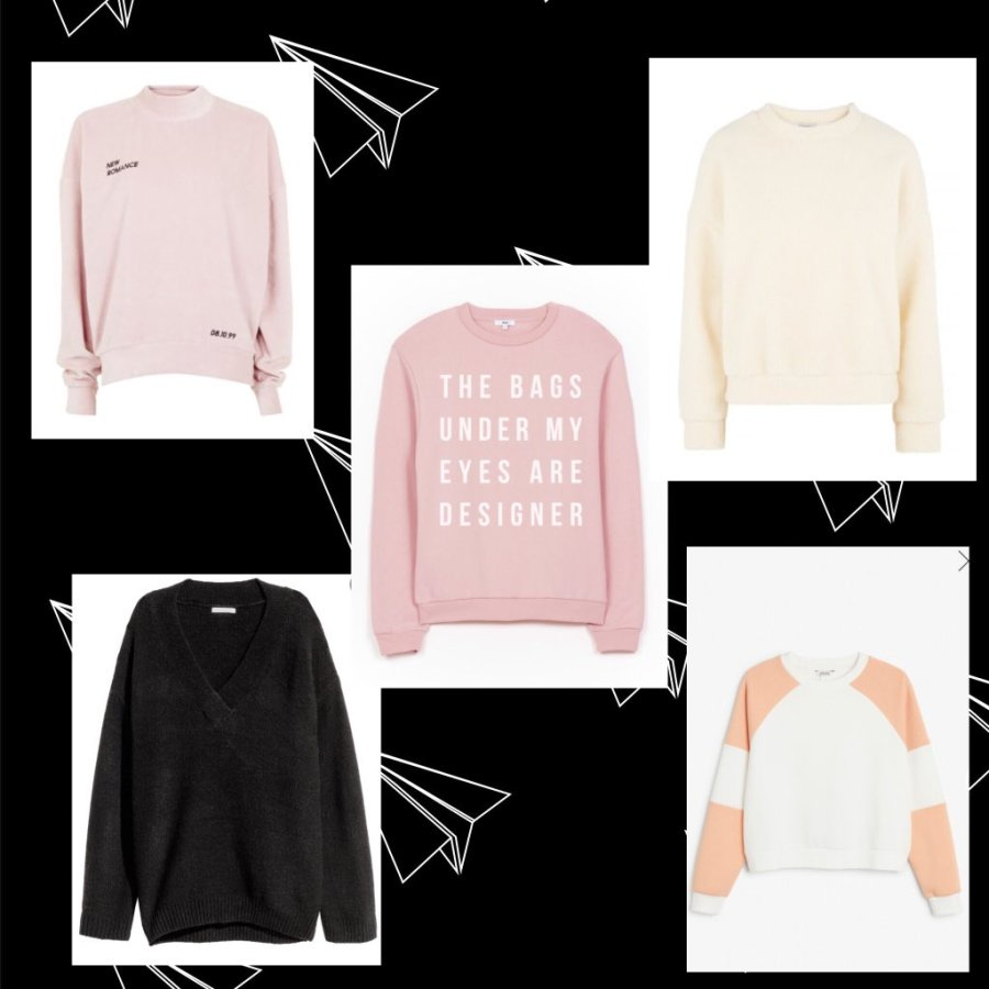 5x Sweatshirt Wishes