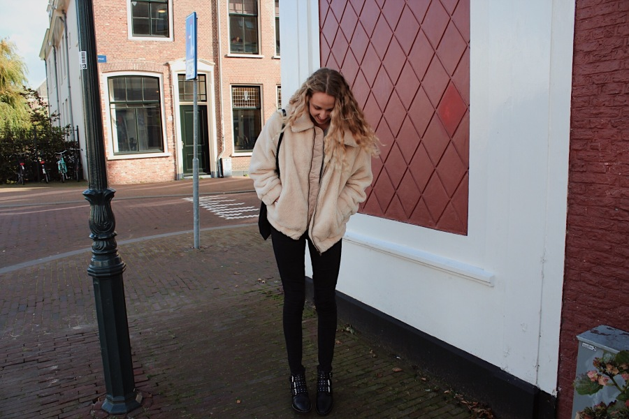 OUTFIT | Teddy Coat